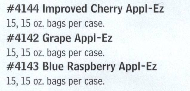 4144 Cherry Appl-Ez RECOGNIZED AS THE BEST Candy Apple Mix