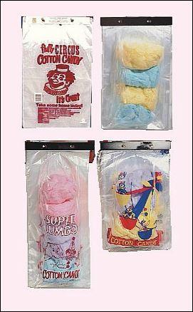 Cotton Candy Cello Bags