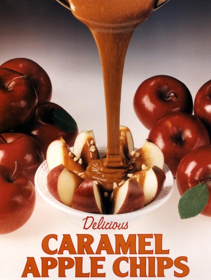 Caramel Apple Chip Poster